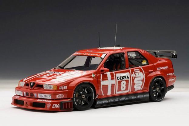 Autoart Alfa Romeo 155 V6 TI DTM Red