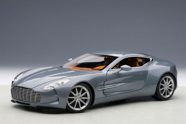 Autoart Aston Martin One-77 Blue
