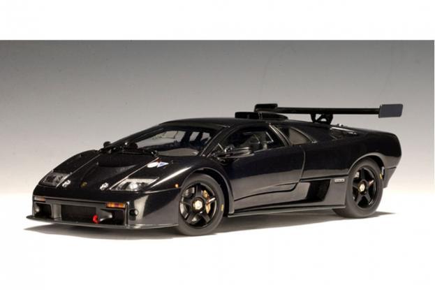 Autoart Lamborghini Diablo GTR Black
