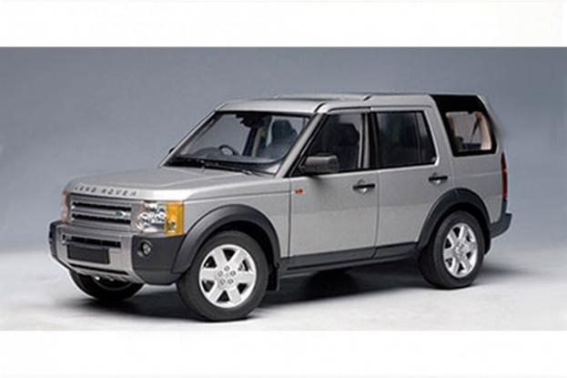 Autoart Land Rover Discovery 3 Silver
