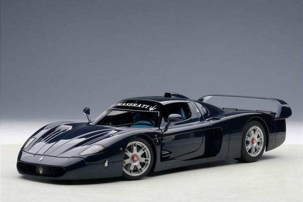 Autoart Maserati MC12 Blue