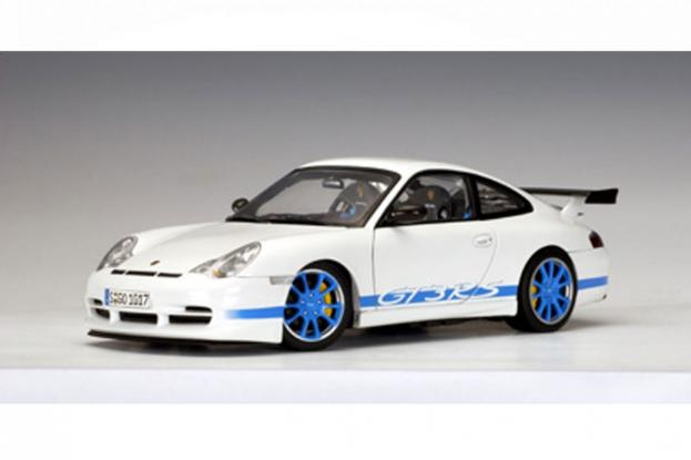 Autoart Porsche 911 996 GT3 RS White