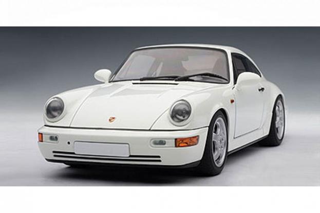 Autoart Porsche 911 964 Carrera RS White