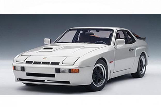 Autoart Porsche 924 Carrera GT Silver