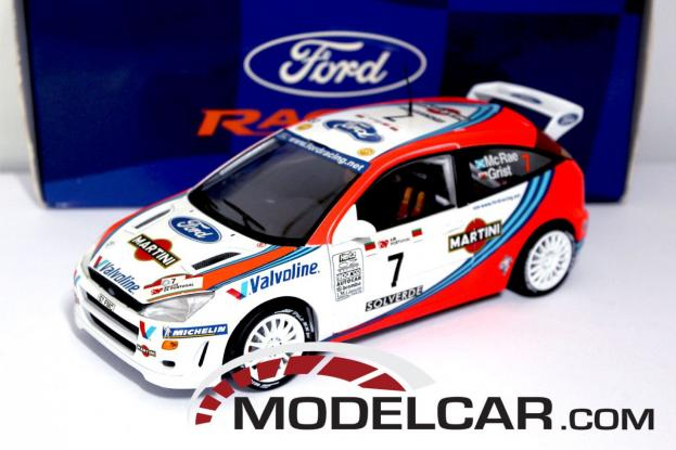 Action Ford Focus WRC White