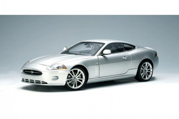 Autoart Jaguar XK Silver