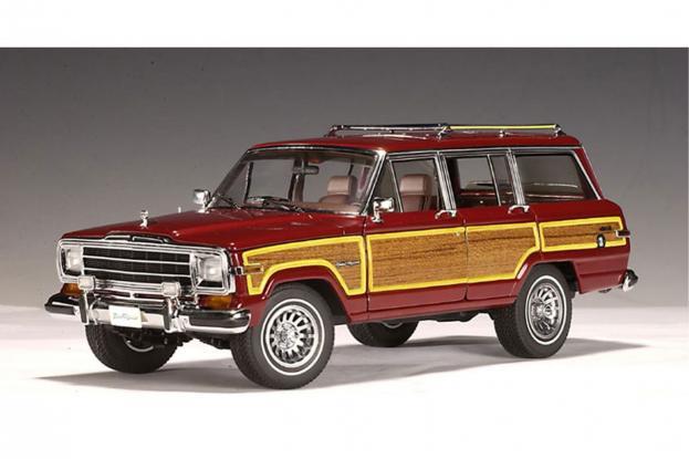 Autoart Jeep Grand Wagoneer Red
