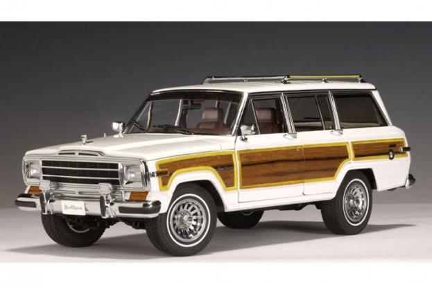 Autoart Jeep Grand Wagoneer White