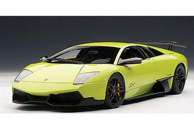 Autoart Lamborghini Murcielago LP670-4 SV Green
