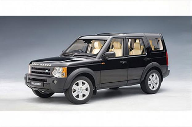 Autoart Land Rover Discovery 3 Black