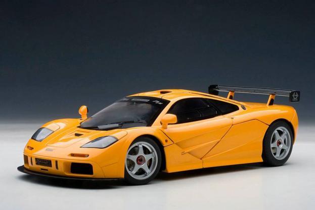 Autoart McLaren F1 LM Orange
