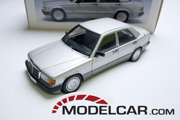 Autoart Mercedes 190E 2.0 W201 Silver