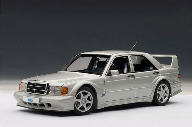 Autoart Mercedes 190E 2.5-16 EVO 2 W201 Silver