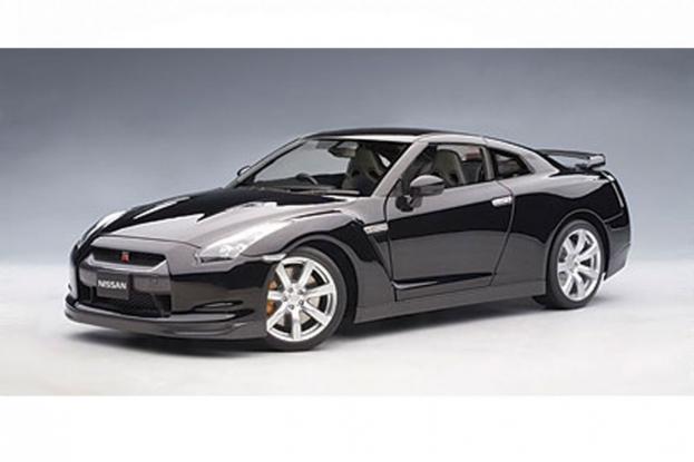 Autoart Nissan GT-R R35 Black