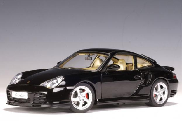 Autoart Porsche 911 996 Turbo Black