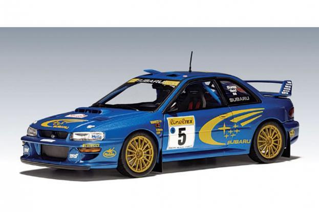 Autoart Subaru Impreza WRC Blue