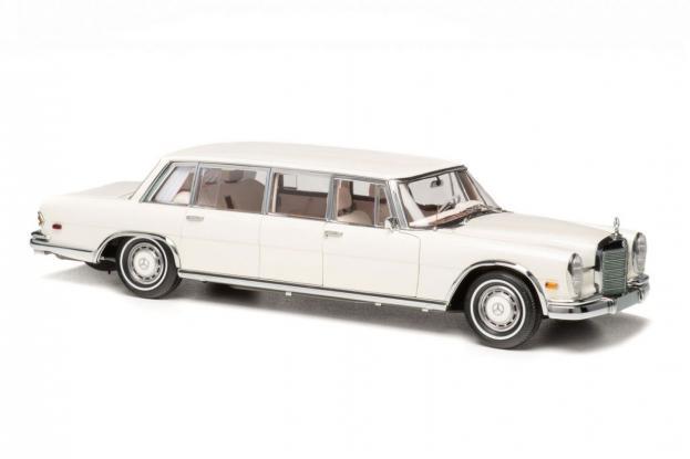 CMC Mercedes 600 Pullman LWB W100 White