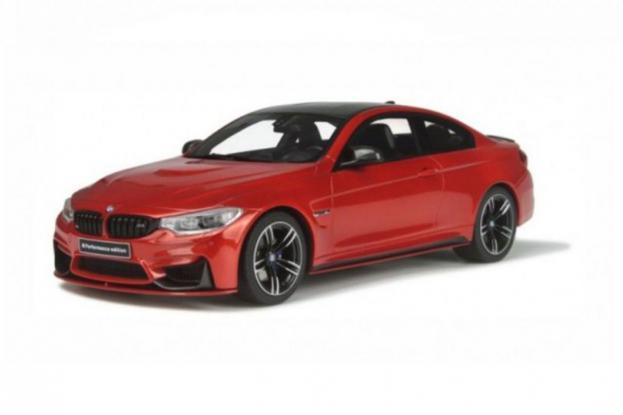 GT Spirit BMW M4 coupe F82 Orange