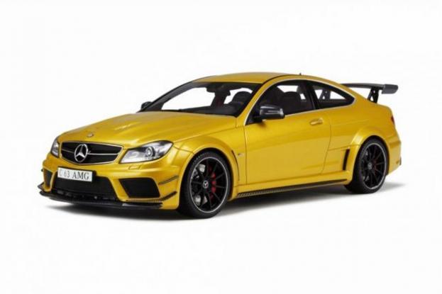 GT Spirit Mercedes C63 AMG Black Series W204 Yellow