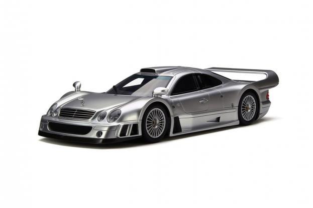 GT Spirit Mercedes CLK GTR Silver