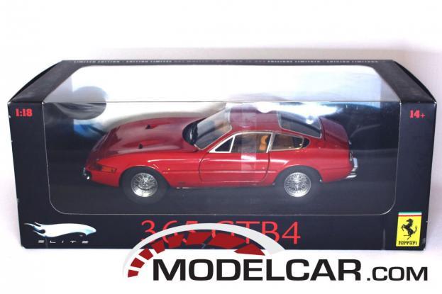 Hot Wheels Elite Ferrari 365 GTB4 Red