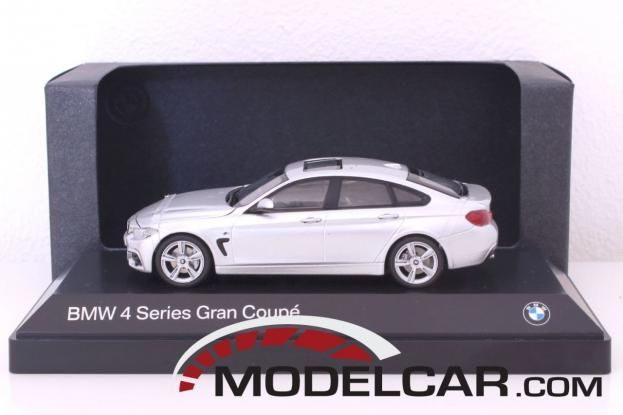 Kyosho BMW 4 series gran coupe f36 Zilver