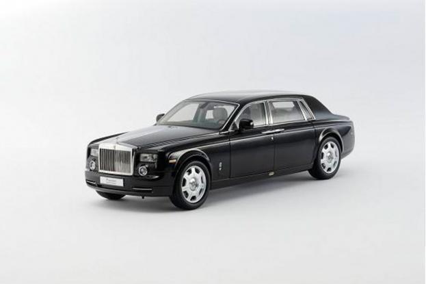 Kyosho Rolls Royce Phantom Black