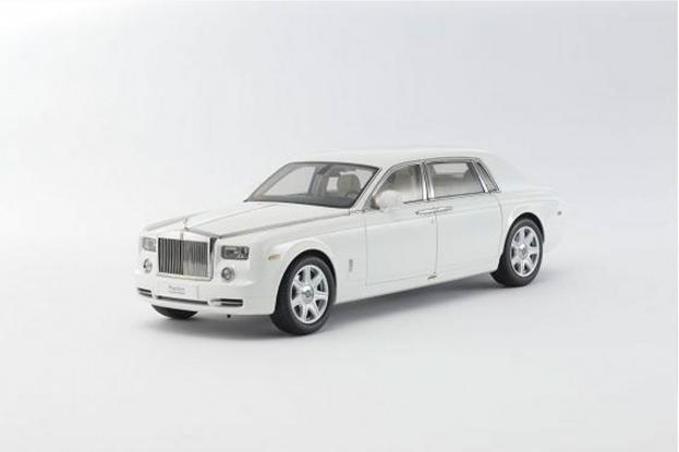 Kyosho Rolls Royce Phantom White