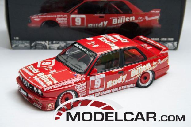 Minichamps BMW M3 coupe e30 Red