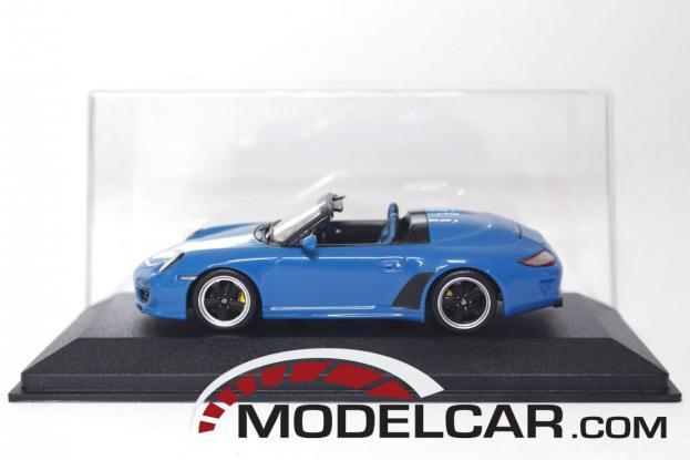 Minichamps Porsche 911 997 Speedster Blue