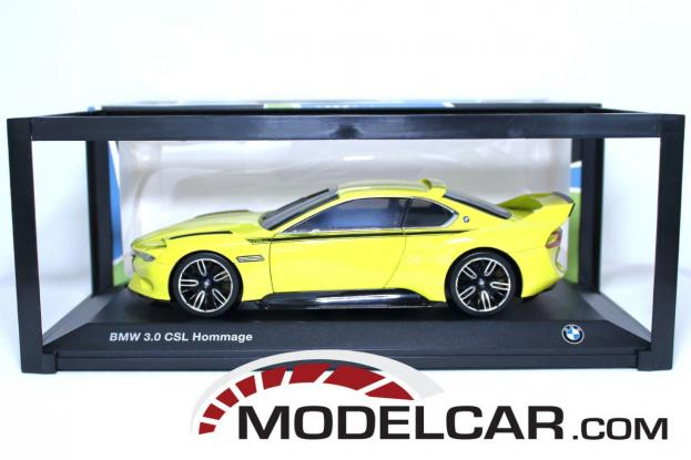 Norev BMW 3.0 CSL Hommage Yellow