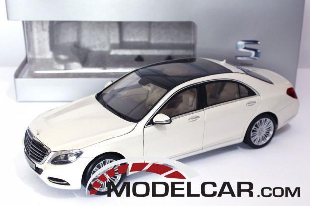 Norev Mercedes S-Class W222 White