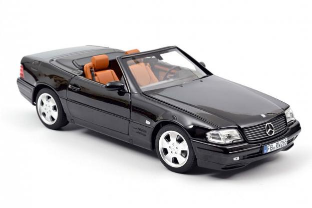 Norev Mercedes 500SL R129 Black