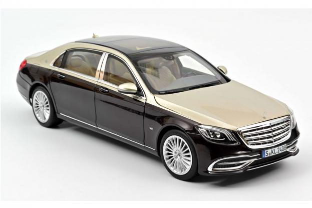 Norev Mercedes Maybach S650 w222 Silver