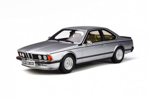 Ottomobile BMW 635 CSI e24 Silver