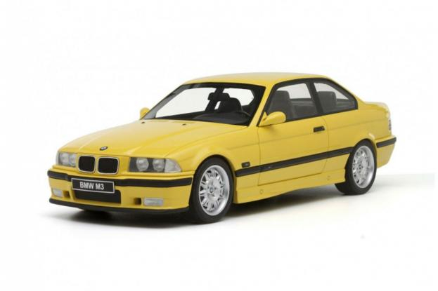 Ottomobile BMW M3 coupe e36 Yellow