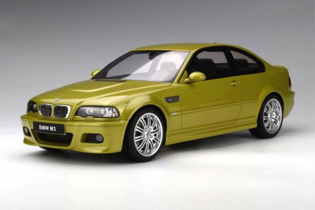 Ottomobile BMW M3 coupe e46 Geel