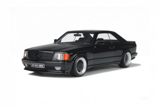 Ottomobile Mercedes 560 SEC AMG C126 Black
