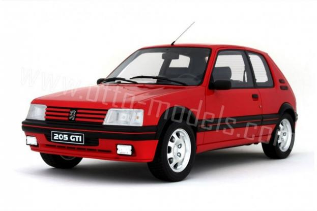 Ottomobile Peugeot 205 GTI Red