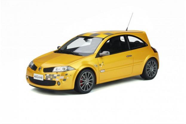 Ottomobile Renault Megane 2 Ph.2 RS R26 Yellow