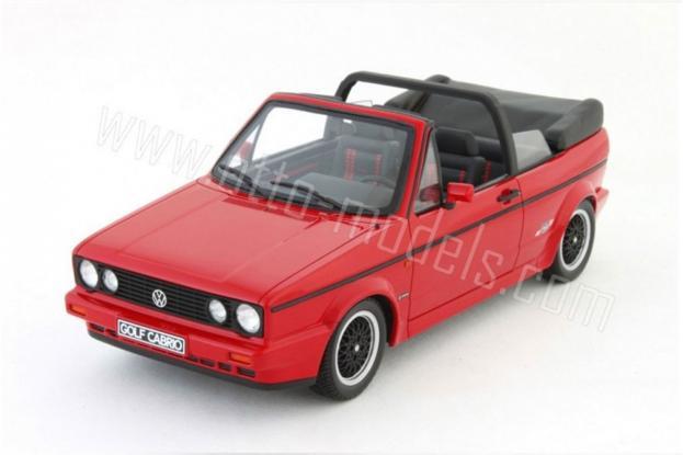 Ottomobile Volkswagen Golf 1 Cabriolet Red