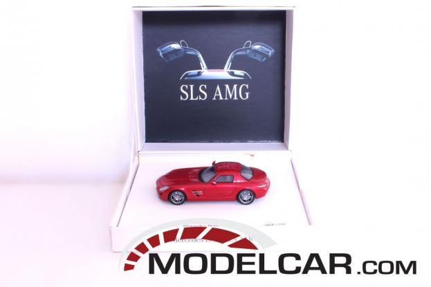 Schuco Mercedes SLS AMG Red