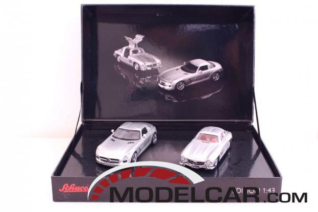 Schuco Mercedes SLS AMG Silver