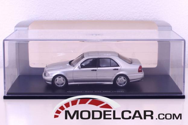 Spark Mercedes C43 AMG W202 Silver