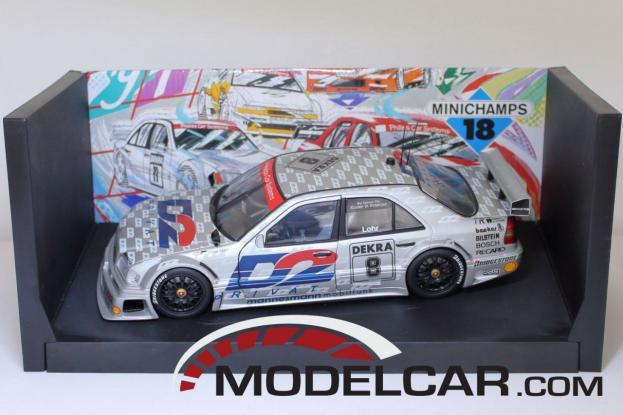 UT models Mercedes C-Class DTM W202 Silver