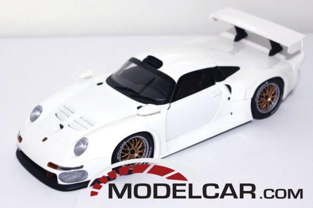 UT models Porsche 911 993 GT1 White