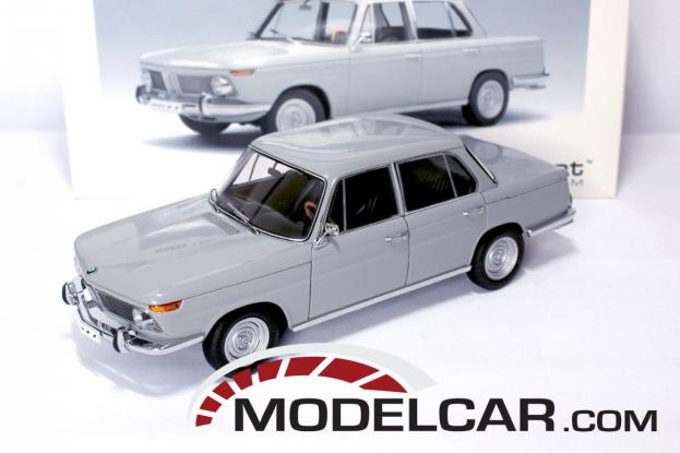 Autoart BMW 1800 TI-SA Grijs