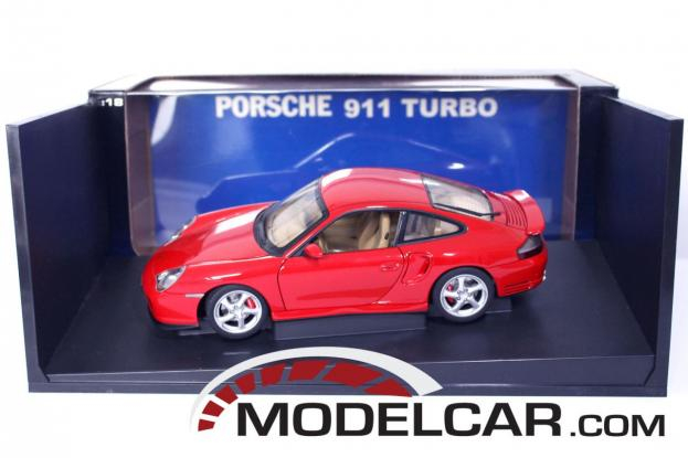 Autoart Porsche 911 996 Turbo Red