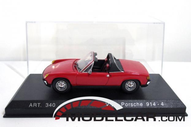 Detailcars Porsche 914 Red