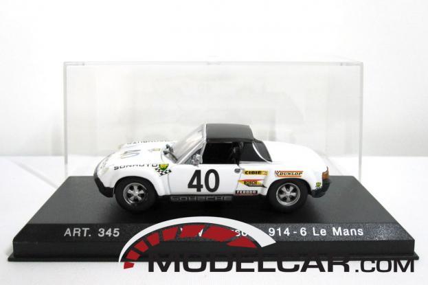 Detailcars Porsche 914 White